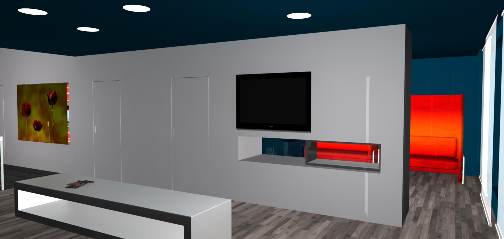 A3 ontwerpburo - Idee ouderlijke slaapkamer met badkamer ...